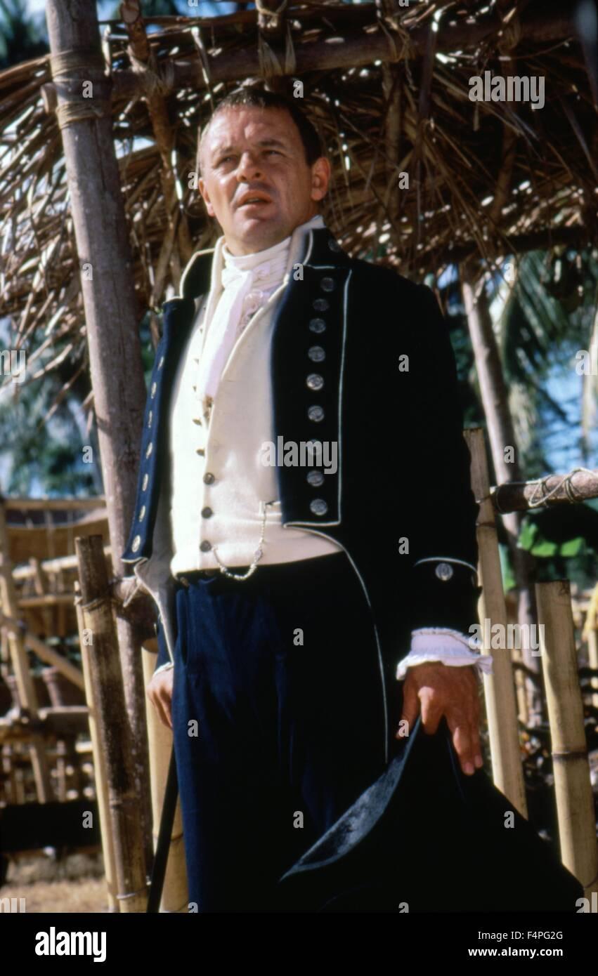 Anthony Hopkins / El Bounty / 1984 dirigida por Roger Donaldson Foto de stock