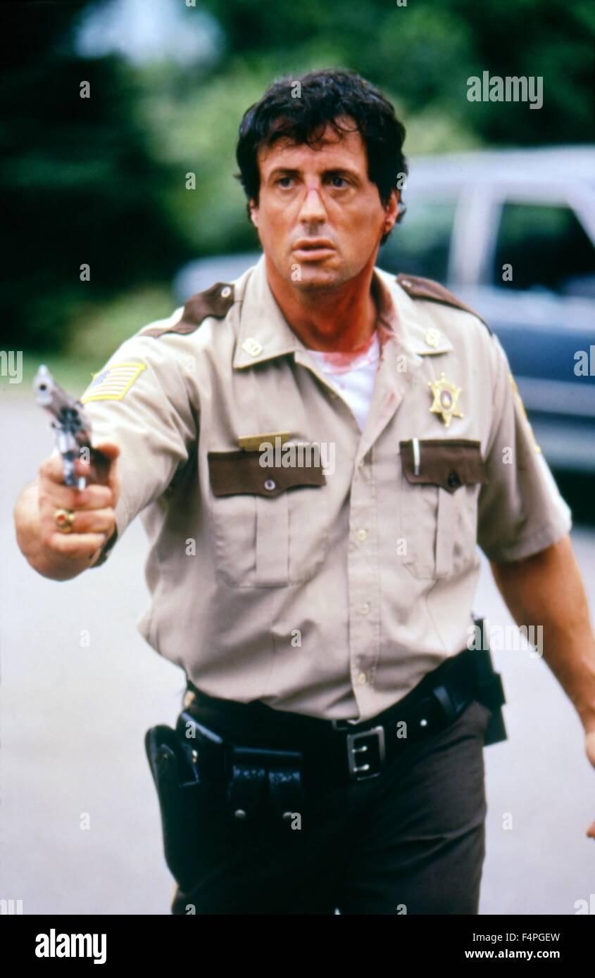 Sylvester Stallone / Cop Terrenos / 1997 dirigida por James Mangold Imagen De Stock
