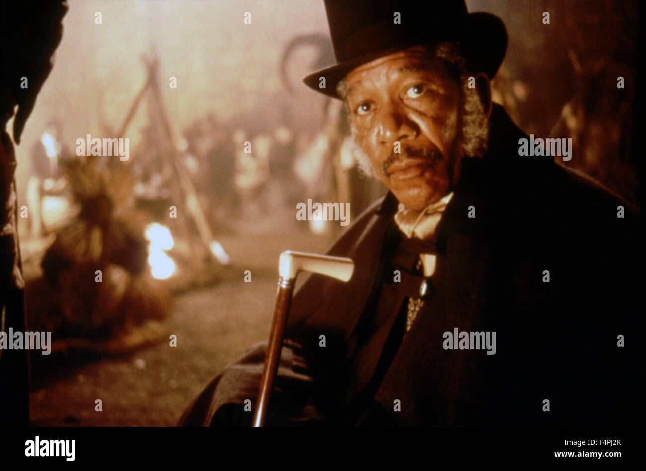 Morgan Freeman / Amistad / 1997 dirigida por Steven Spielberg [Dreamworks Pictures] Imagen De Stock