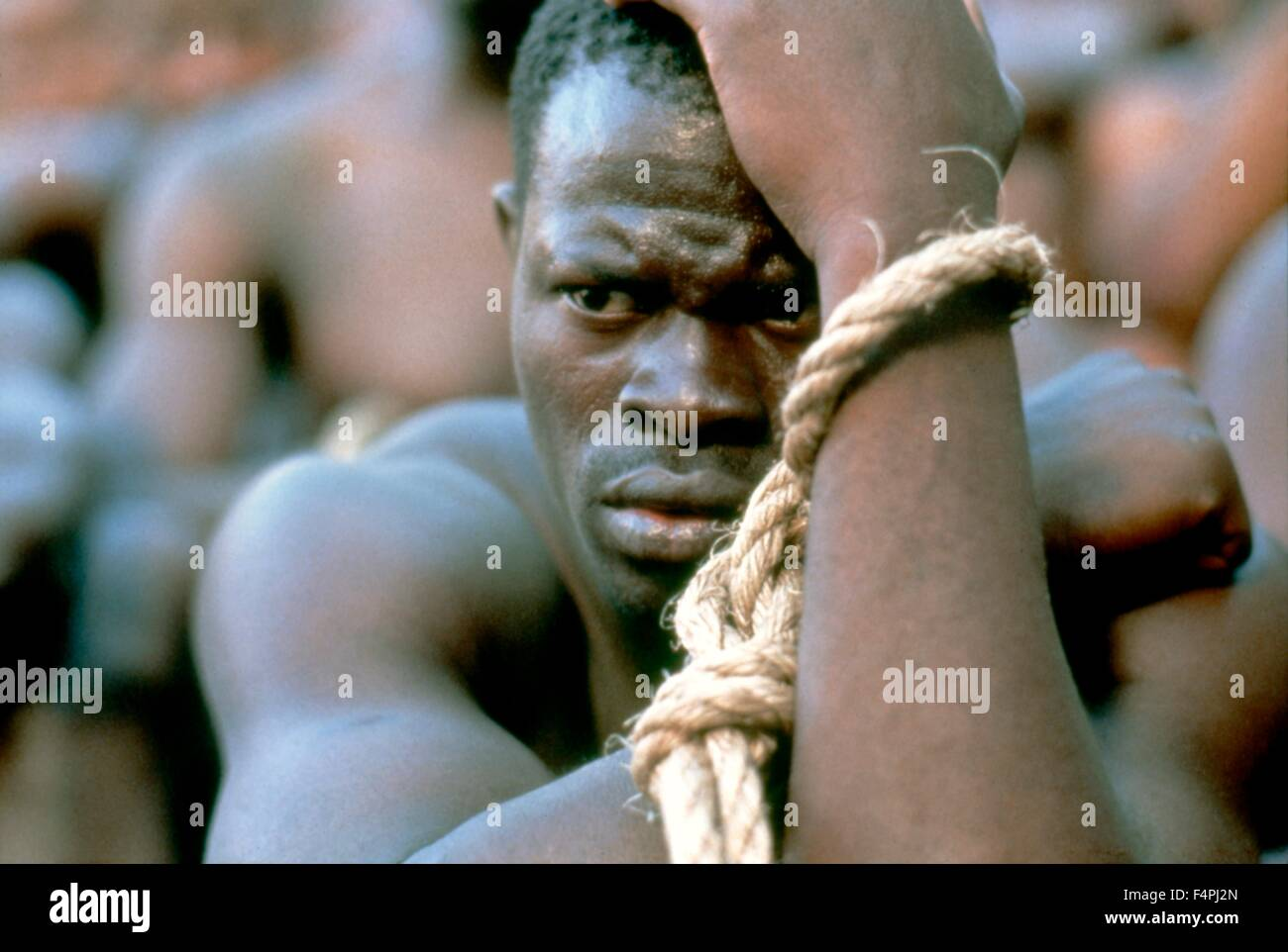 Djimon Hounsou / Amistad / 1997 dirigida por Steven Spielberg [Dreamworks Pictures] Imagen De Stock