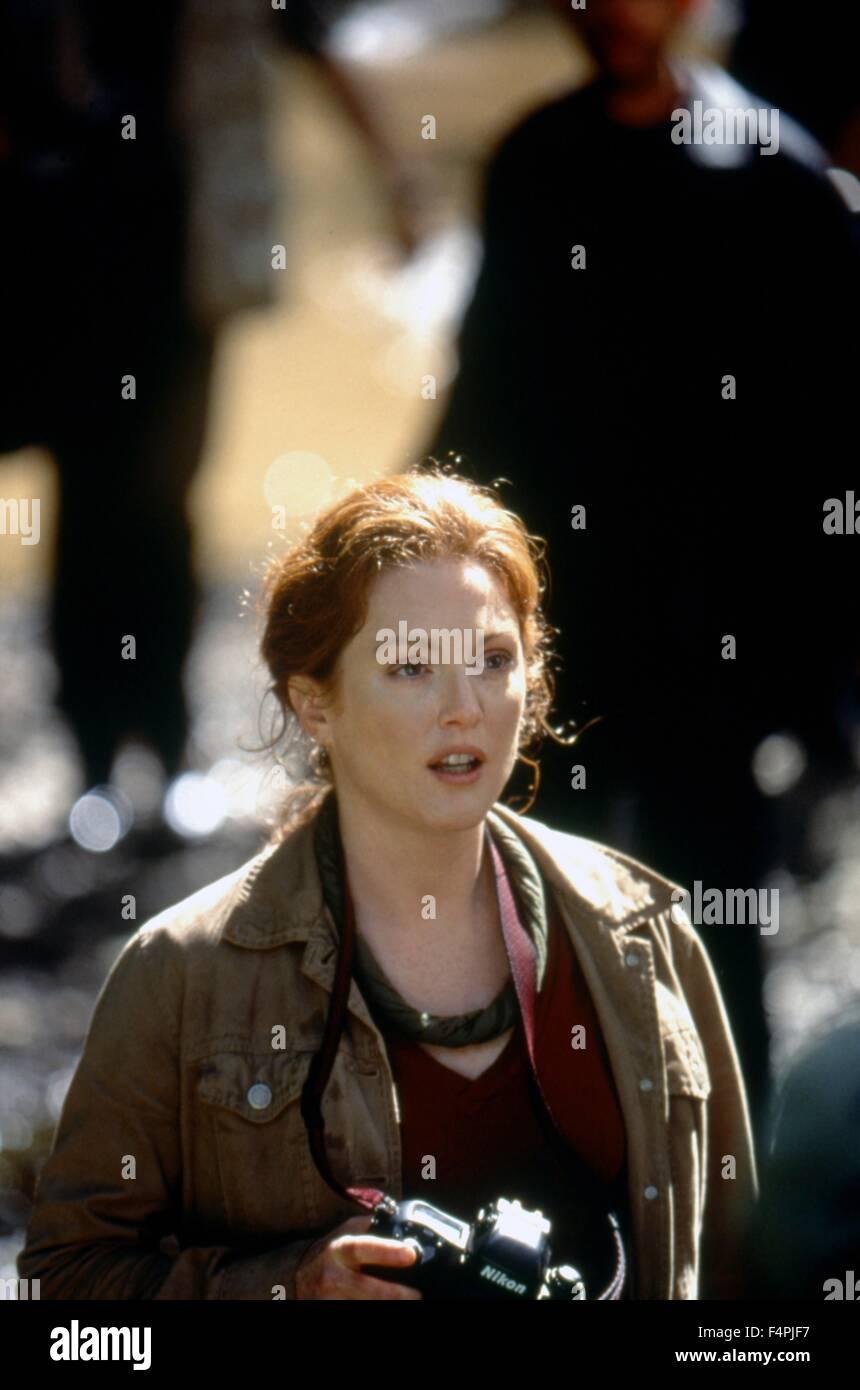 Julianne Moore / El Mundo Perdido: Jurassic Park / 1993 dirigida por Steven Spielberg [Universal Pictures] Imagen De Stock