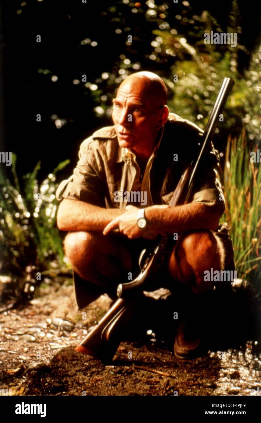 Pete Postlethwaite / El Mundo Perdido: Jurassic Park / 1993 dirigida por Steven Spielberg [Universal Pictures] Imagen De Stock