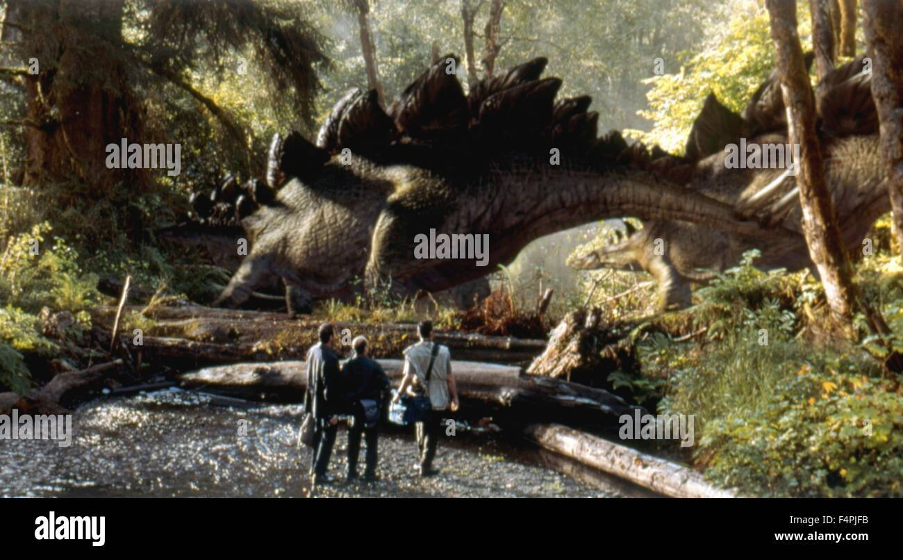 El Mundo Perdido: Jurassic Park / 1993 dirigida por Steven Spielberg [Universal Pictures] Imagen De Stock