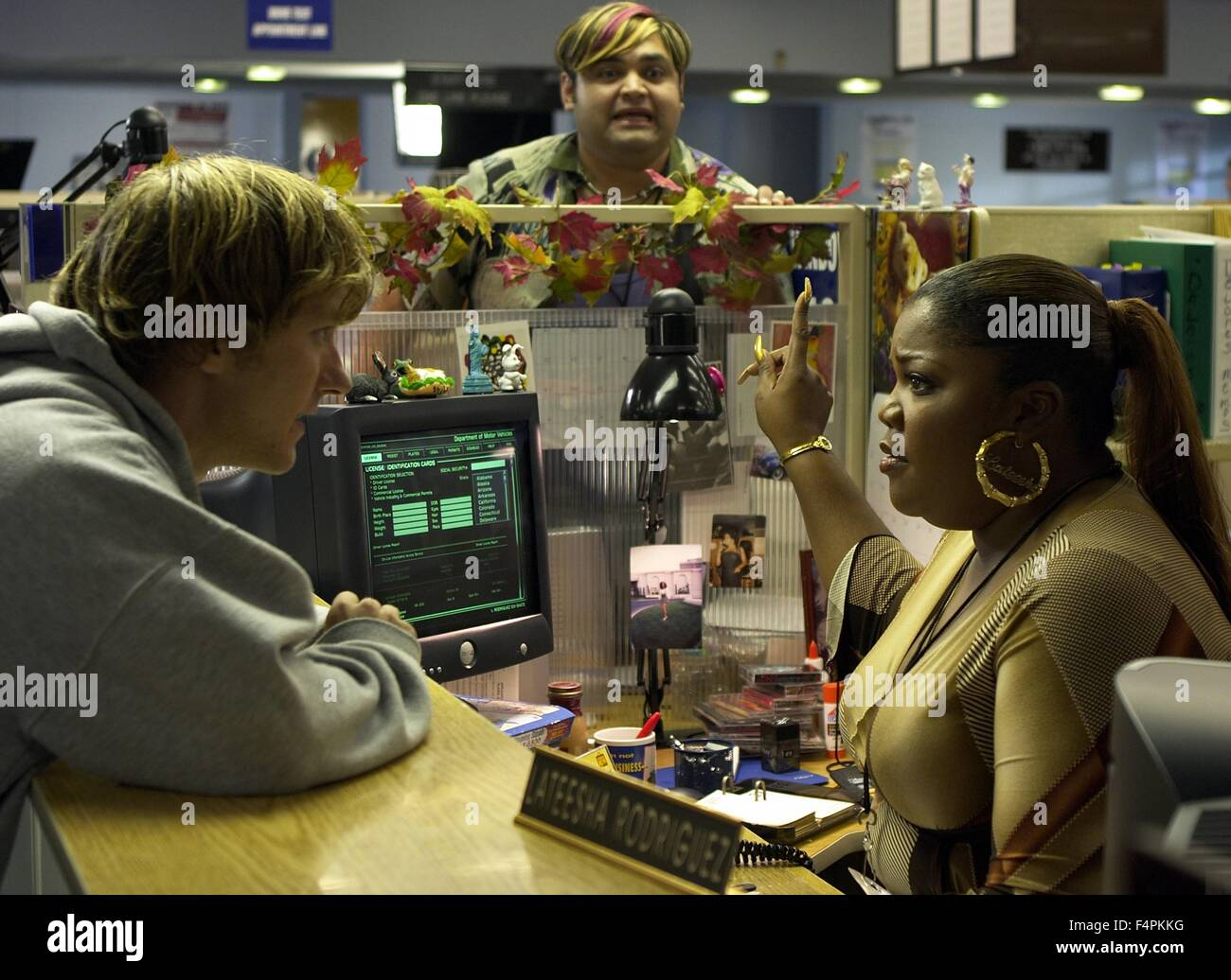 Domino / 2005 dirigida por Tony Scott [New Line Cinema] Imagen De Stock