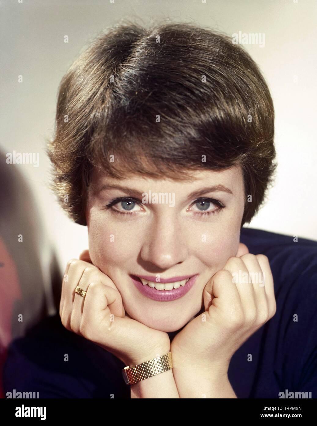 Julie Andrews en la década de los 60's Imagen De Stock
