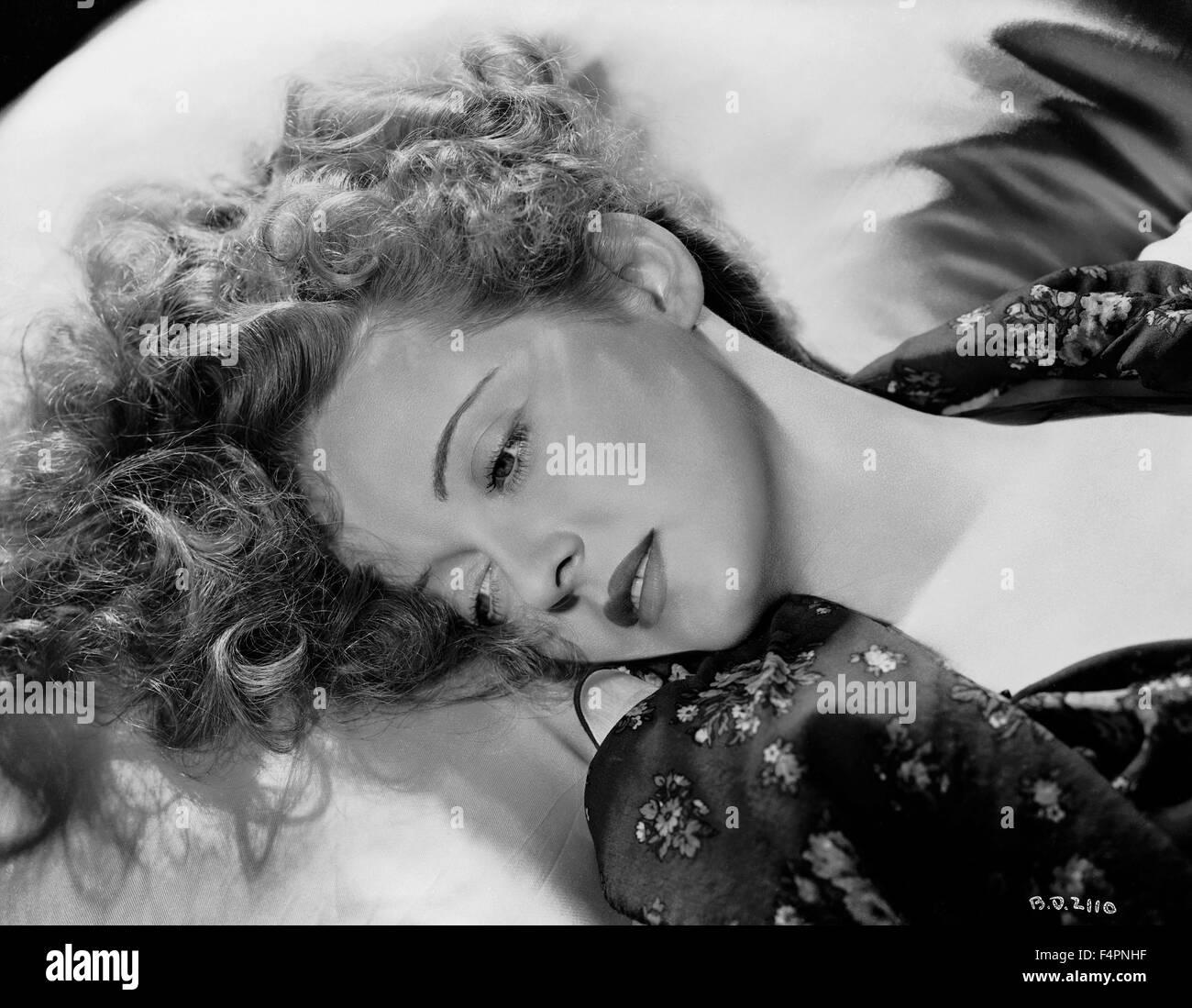 Bette Davis en los 30's Imagen De Stock