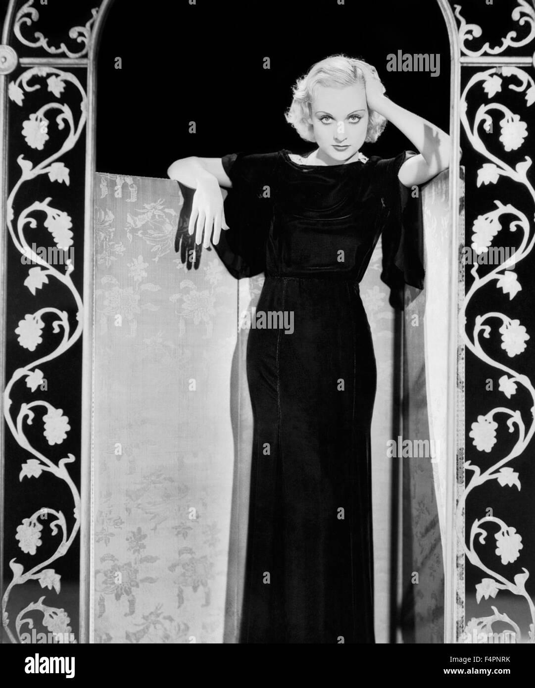 Carole Lombard en los 30's Imagen De Stock