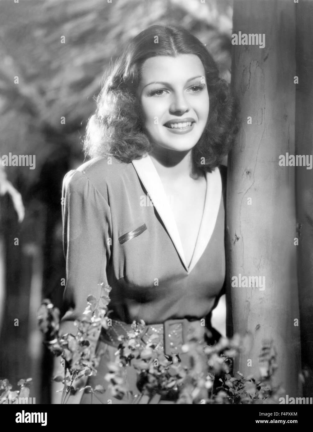 Rita Hayworth / Solo los ángeles tienen alas / 1939 / dirigida por Howard Hawks / [Columbia Pictures] Imagen De Stock