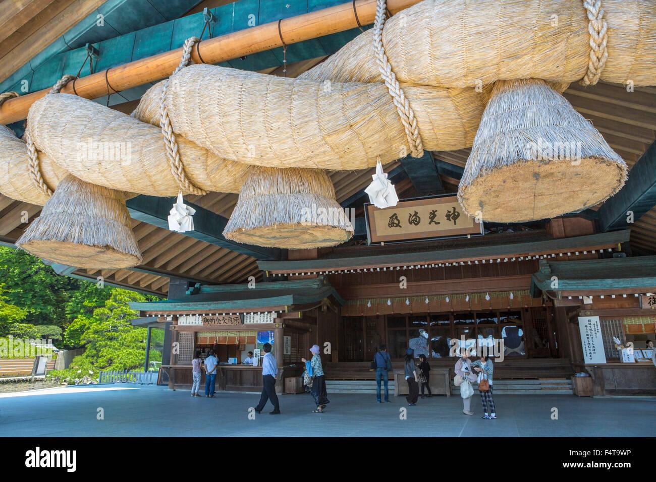 Japón Shimane, Provincia, Ciudad, Izumo Izumo Taisha Shrine Imagen De Stock