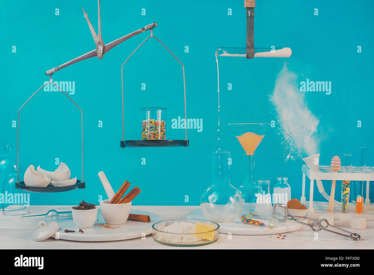 Laboratorio de pastelería Imagen De Stock