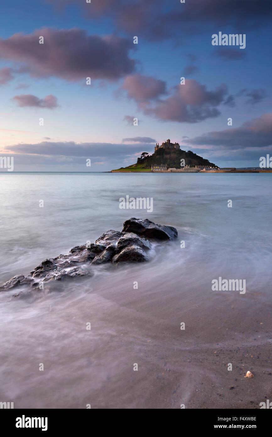 St Michael's Mount; De Marazion Cornwall; UK Imagen De Stock