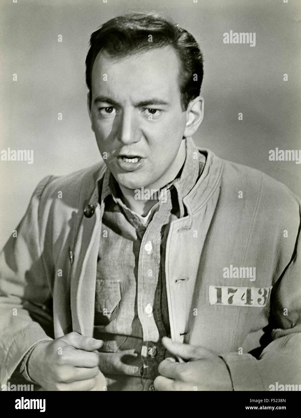 El actor Bobby Darin en una escena de la película ' ' punto de presión Imagen De Stock