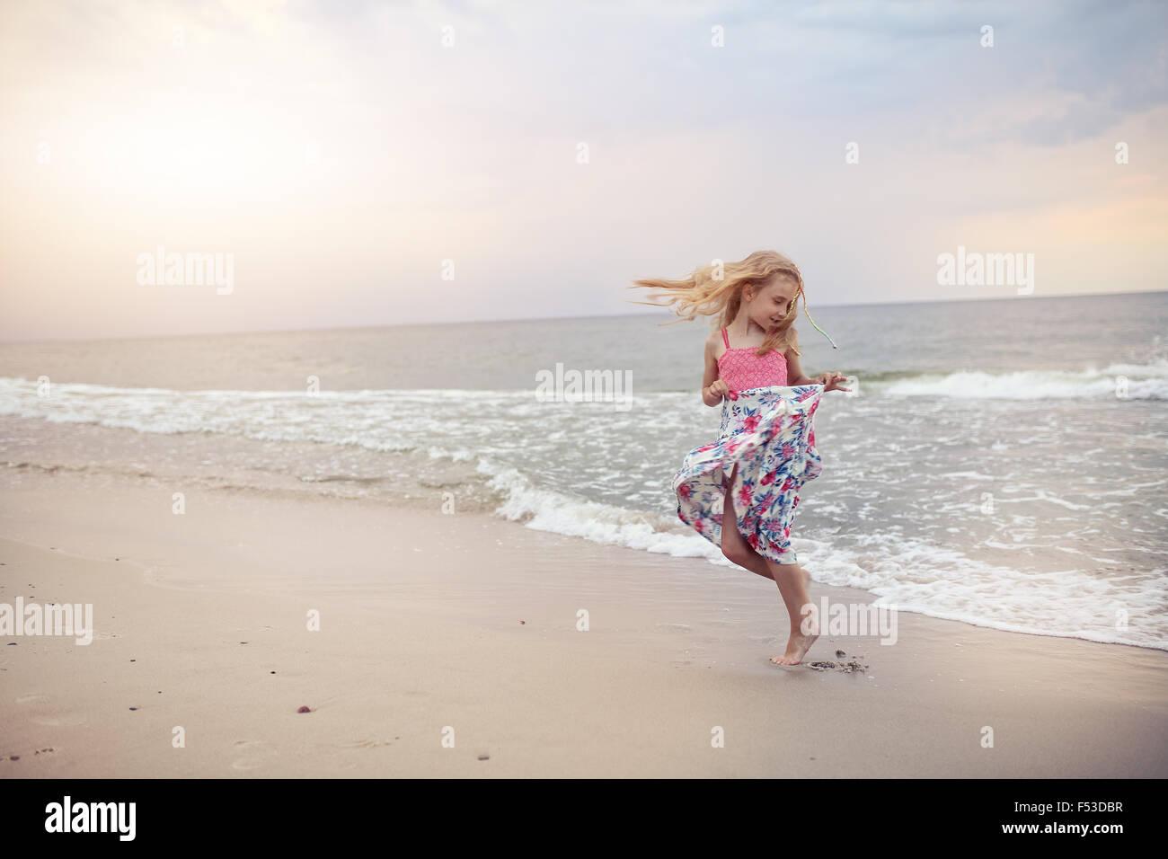 Libertad y flexibilidad - la infancia despreocupada Imagen De Stock