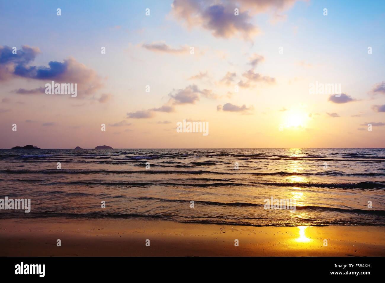 Resumen Antecedentes En la playa Imagen De Stock