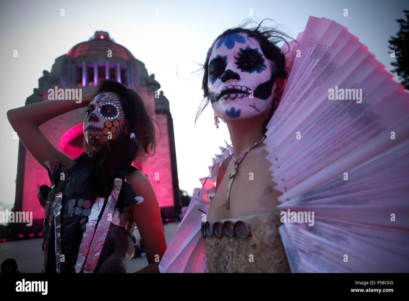Ciudad De México México 29 Oct 2015 Estudiantes De Arte