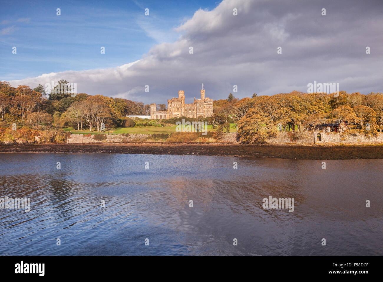 Castillo Lews, Stornoway, en la isla de Lewis, Hébridas Exteriores, Escocia, Reino Unido Foto de stock