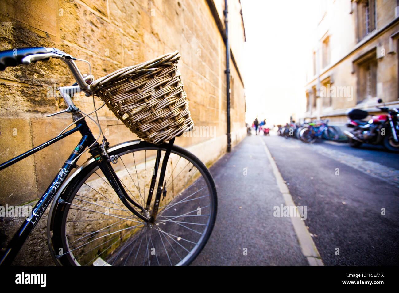 Bicicleta, Oxford, Oxford, Inglaterra, Reino Unido, Europa Imagen De Stock