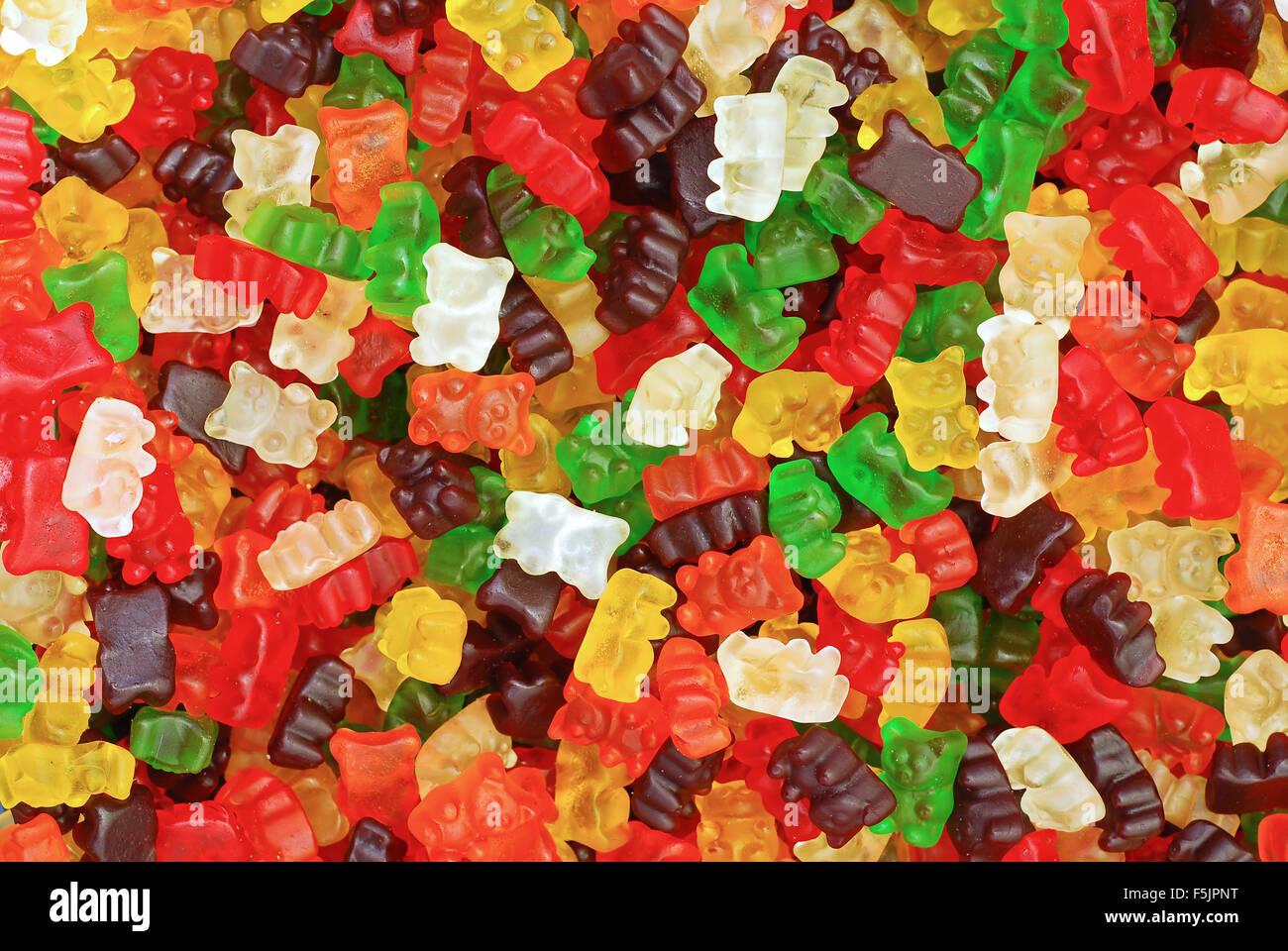 osos Gummy Foto de stock