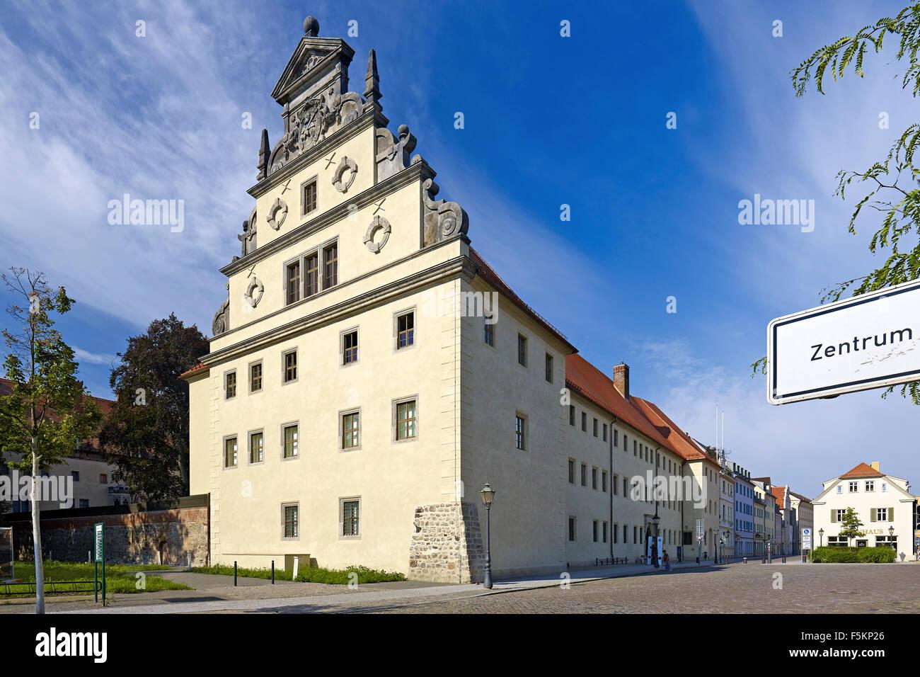 Casa de Lutero en Wittenberg, Alemania Foto de stock