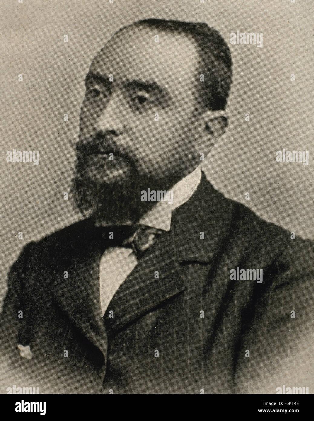 Bonaventura Bassegoda i Amigo (1862-1940). El arquitecto Español Catalán. Retrato. Imagen De Stock