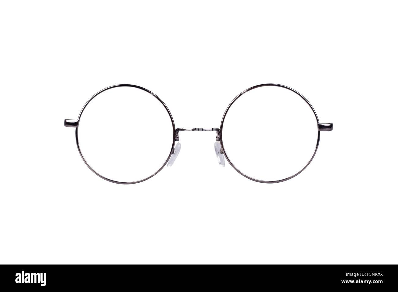 Gafas de círculo Foto & Imagen De Stock: 89601762 - Alamy