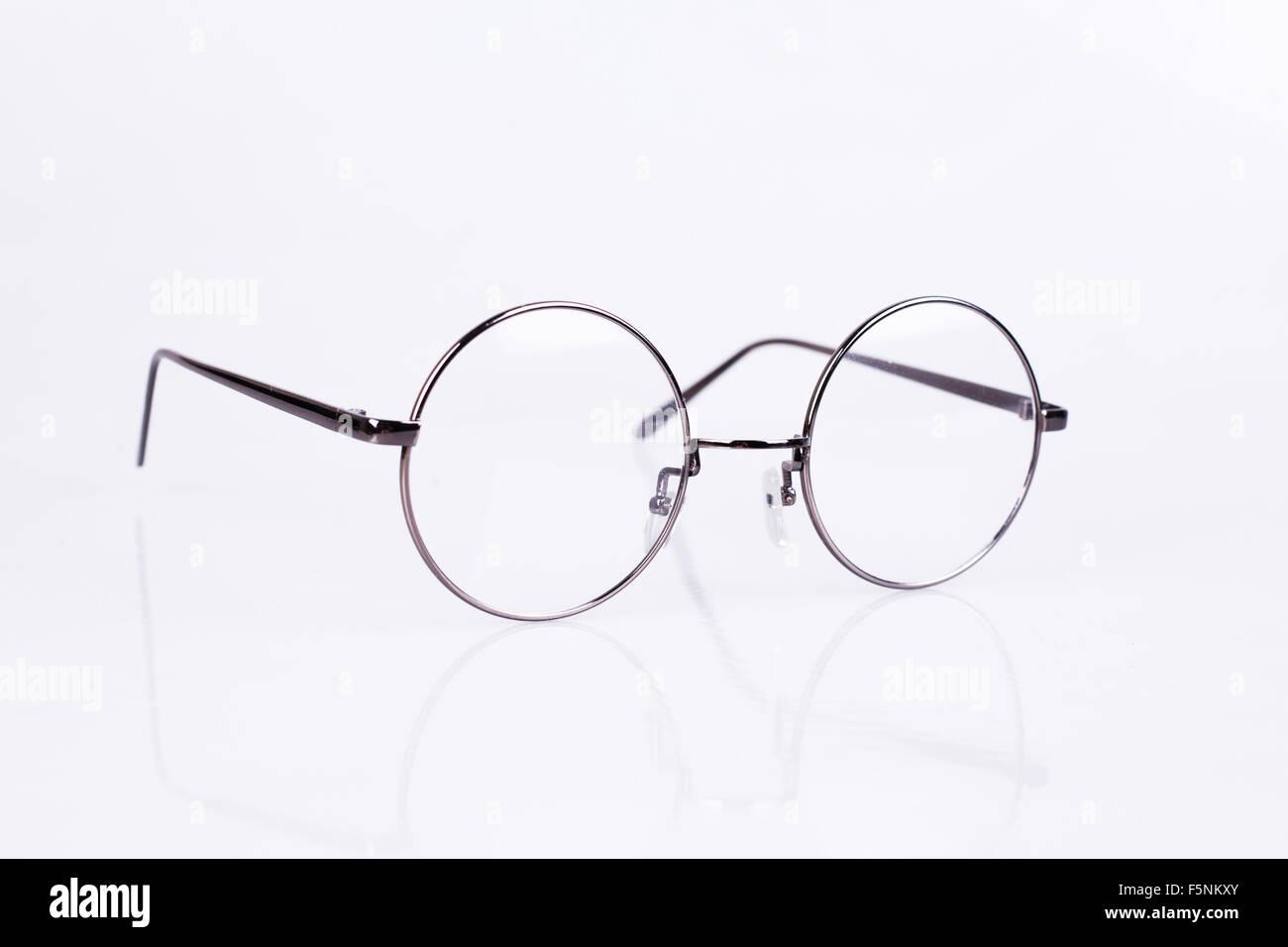 Gafas de círculo Foto & Imagen De Stock: 89601763 - Alamy