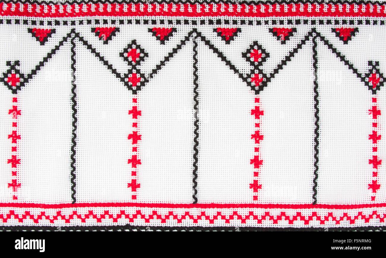 Patrones de bordado tradicional ucraniana. Uso de fondo Foto ...