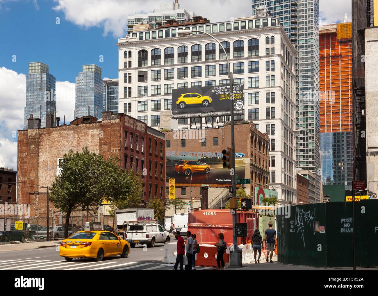 Moderno Nueva York Cocina Del Infierno De Horizonte De Hotel Patrón ...