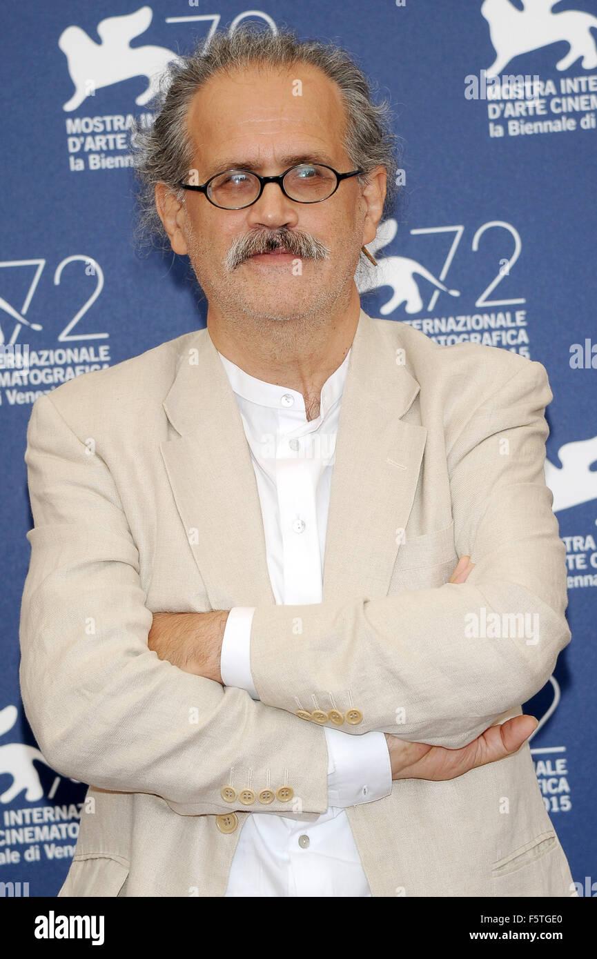 "72º Festival de Cine de Venecia - ""Por Amor"" - Vostro Photocall Featuring: Giuseppe M. Gaudino donde: Venecia, Italia Foto de stock"