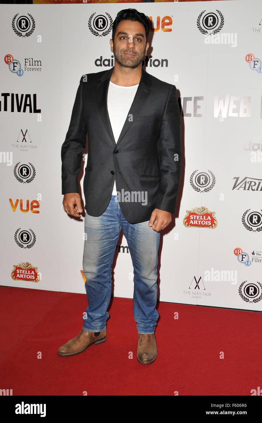El Raindance Film Festival - 'My Hero' Estreno en Vue Cinema Leicester Square - La alfombra roja, presentando: Pasha Foto de stock