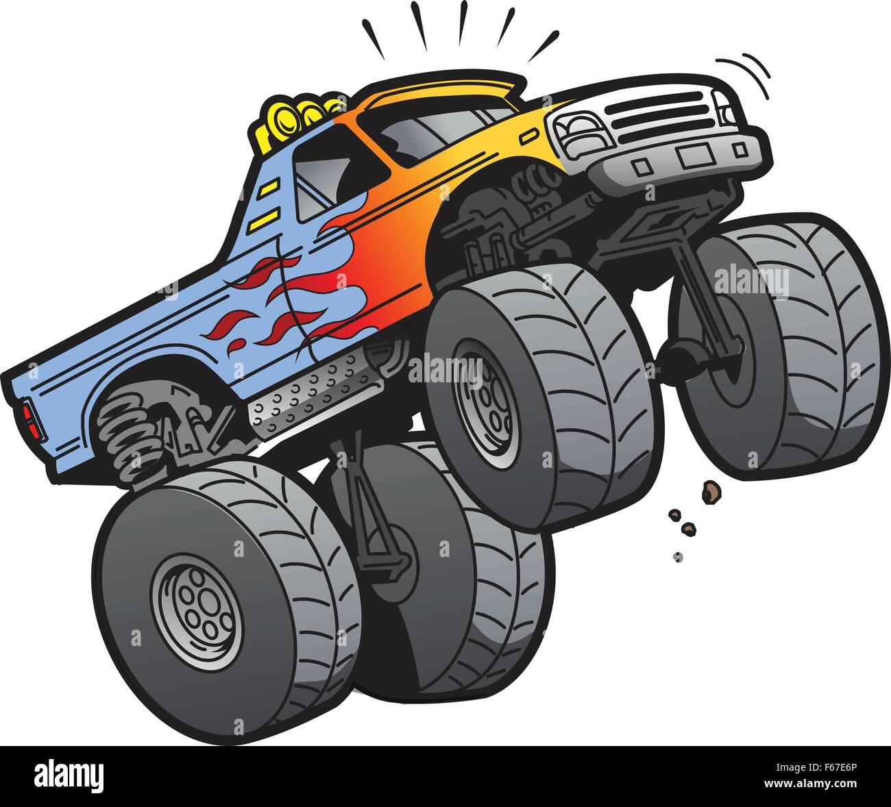 Perfecto Dibujos Animados De Chevy Silverado Modelo - Enmarcado Para ...