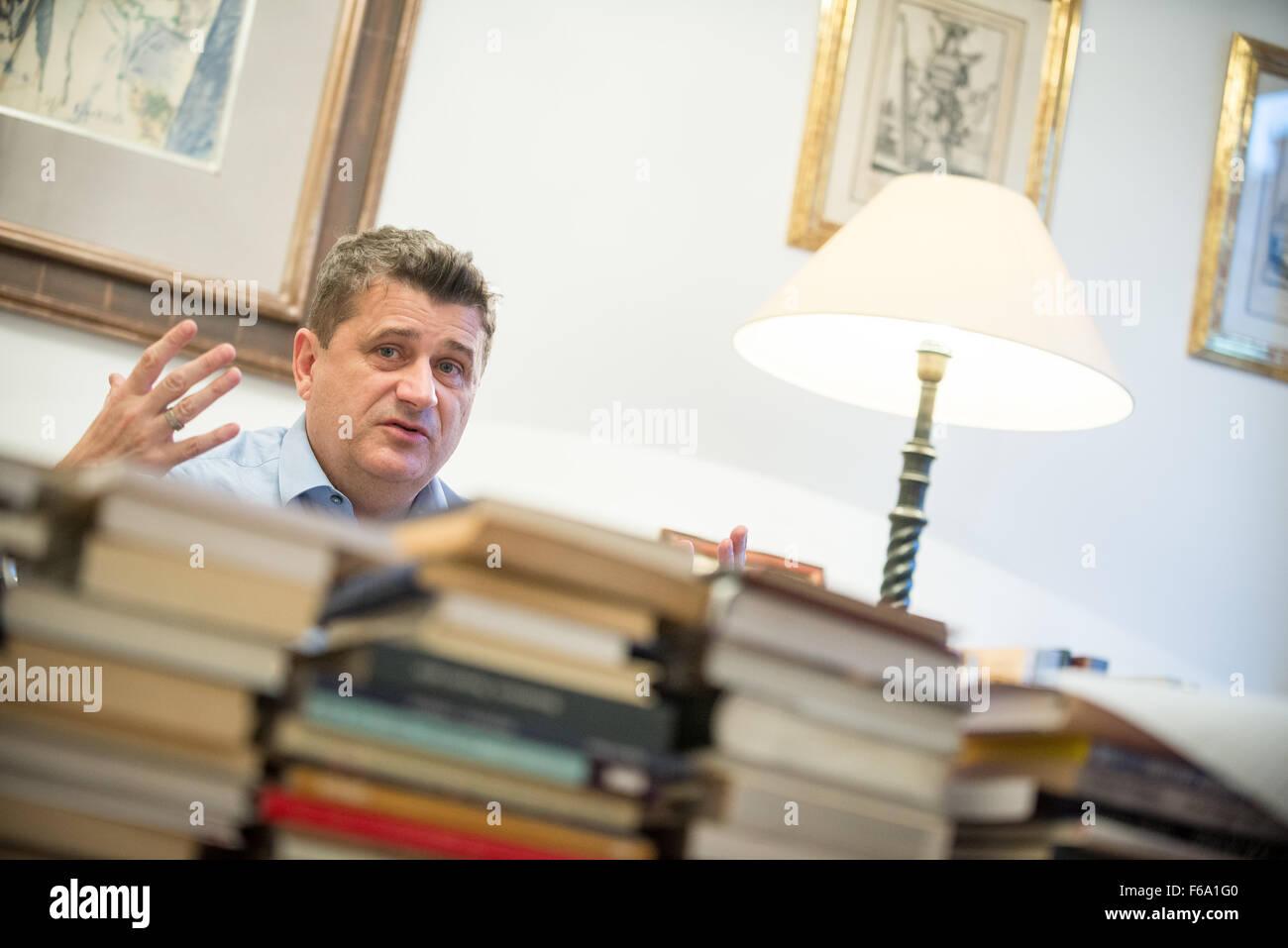 Político polaco, activista y empresario Janusz Palikot Imagen De Stock