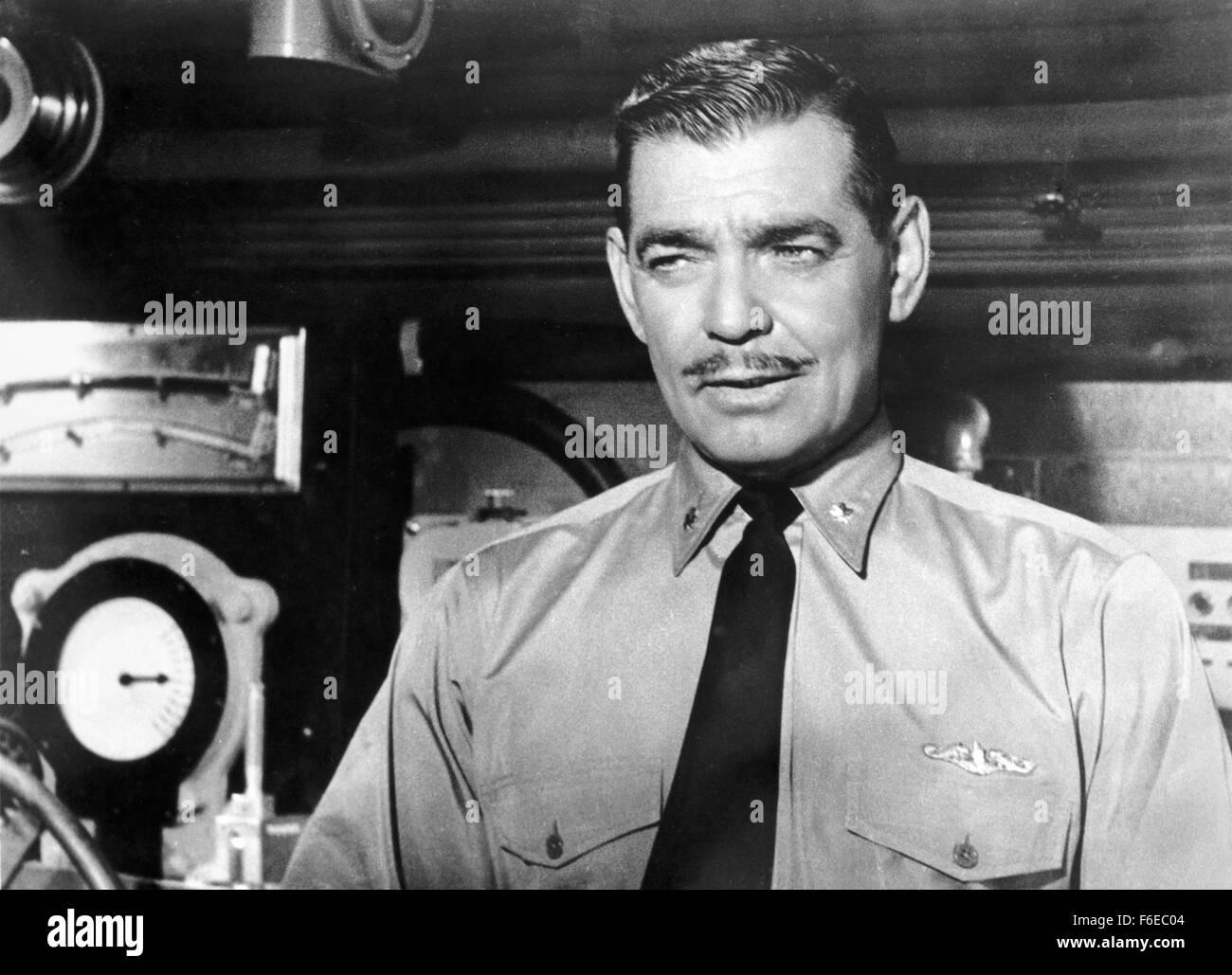 Fecha de lanzamiento: 27 de marzo de 1958. Película: Run Silent Run Deep. Estudio: Jeffrey Pictures Corp. parcela: Imagen De Stock