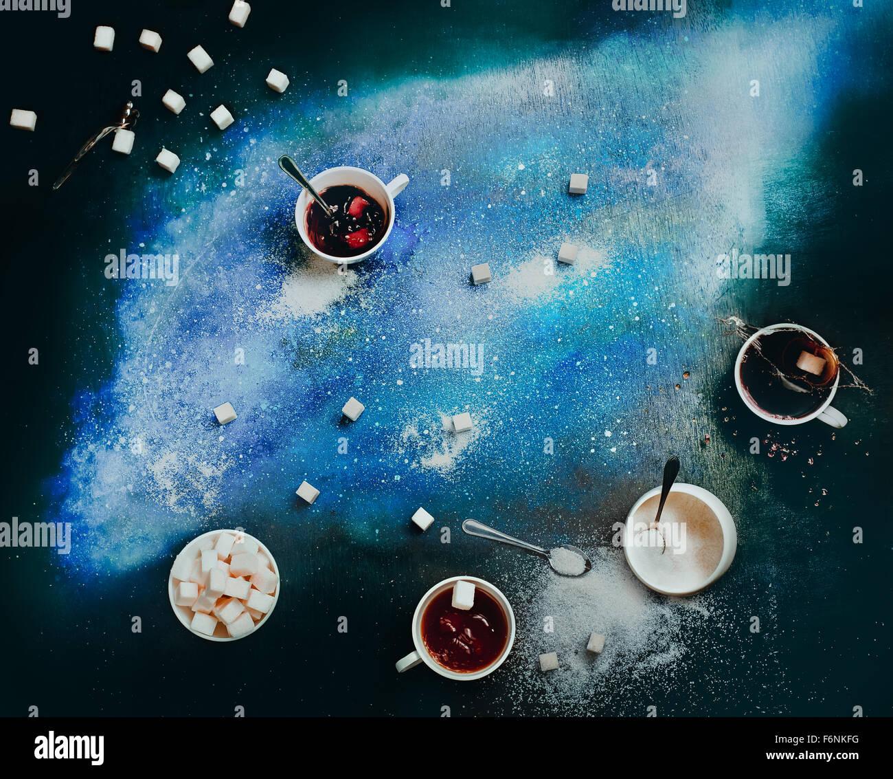 Nebulosa de azúcar Imagen De Stock
