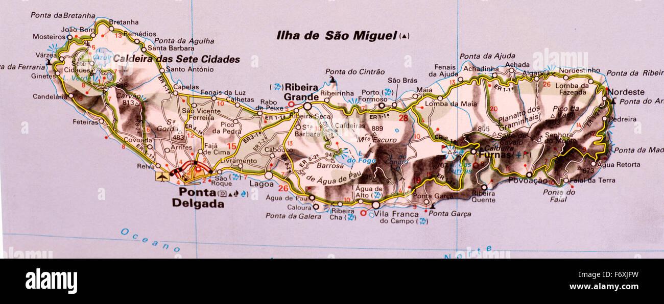 Ilha De Sao Miguel Imagenes De Stock Ilha De Sao Miguel Fotos De
