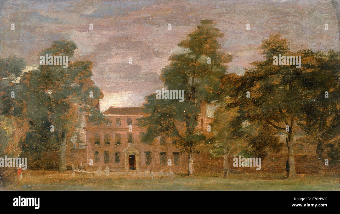 John Constable - West Lodge, East Bergholt Imagen De Stock