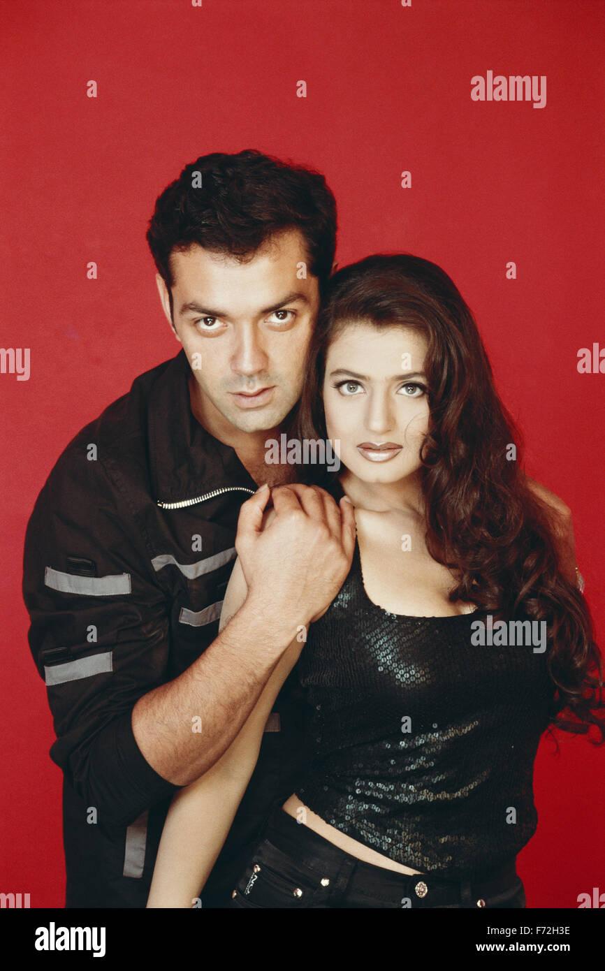 Bobby Deol And Amisha Patel