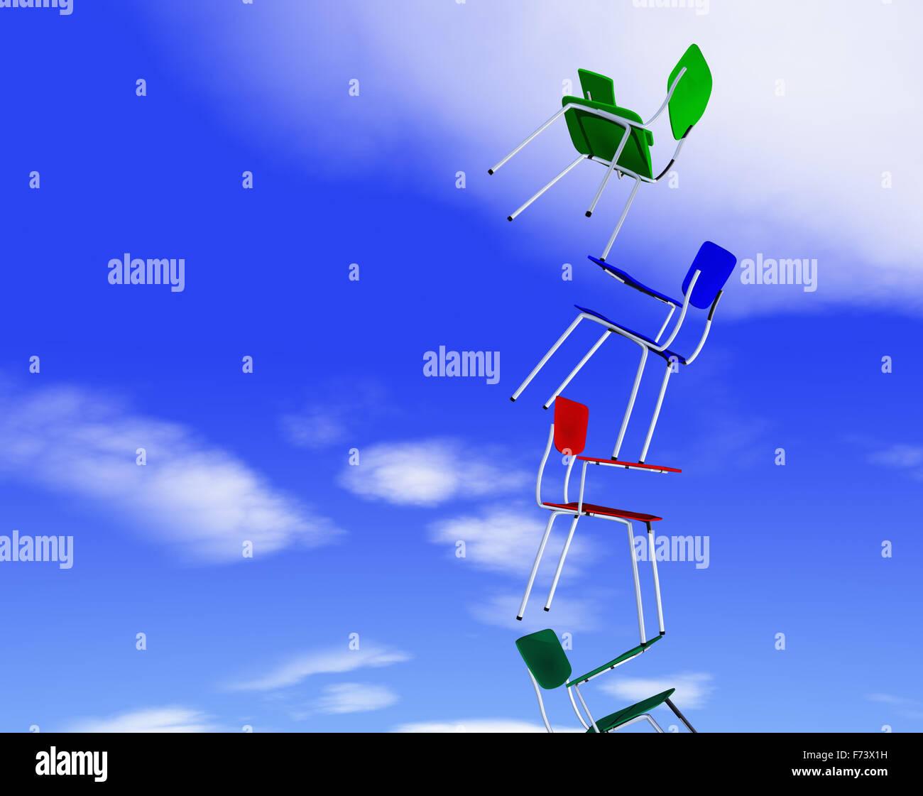 Concepto de equilibrio Imagen De Stock