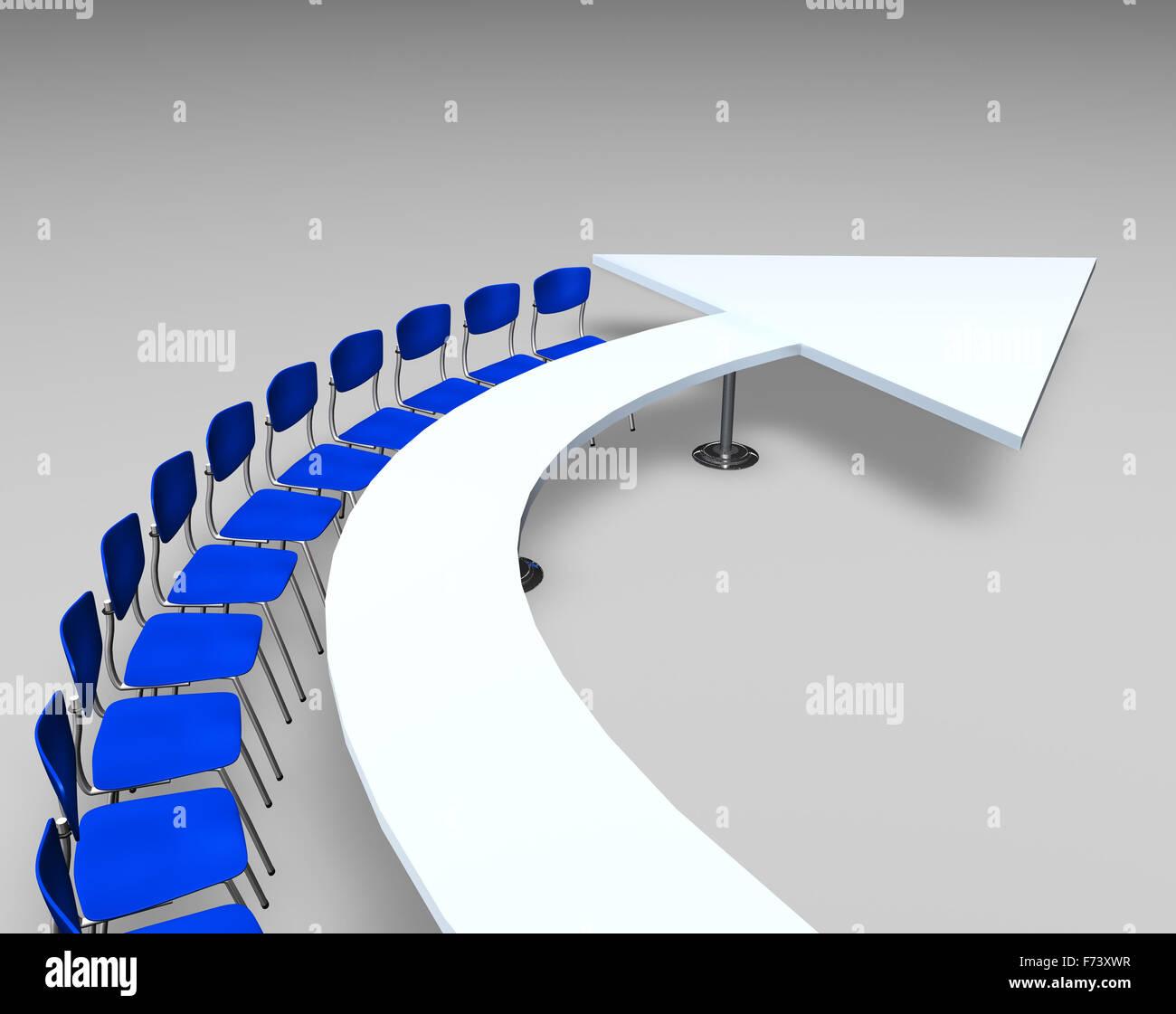 Concepto de flecha Imagen De Stock