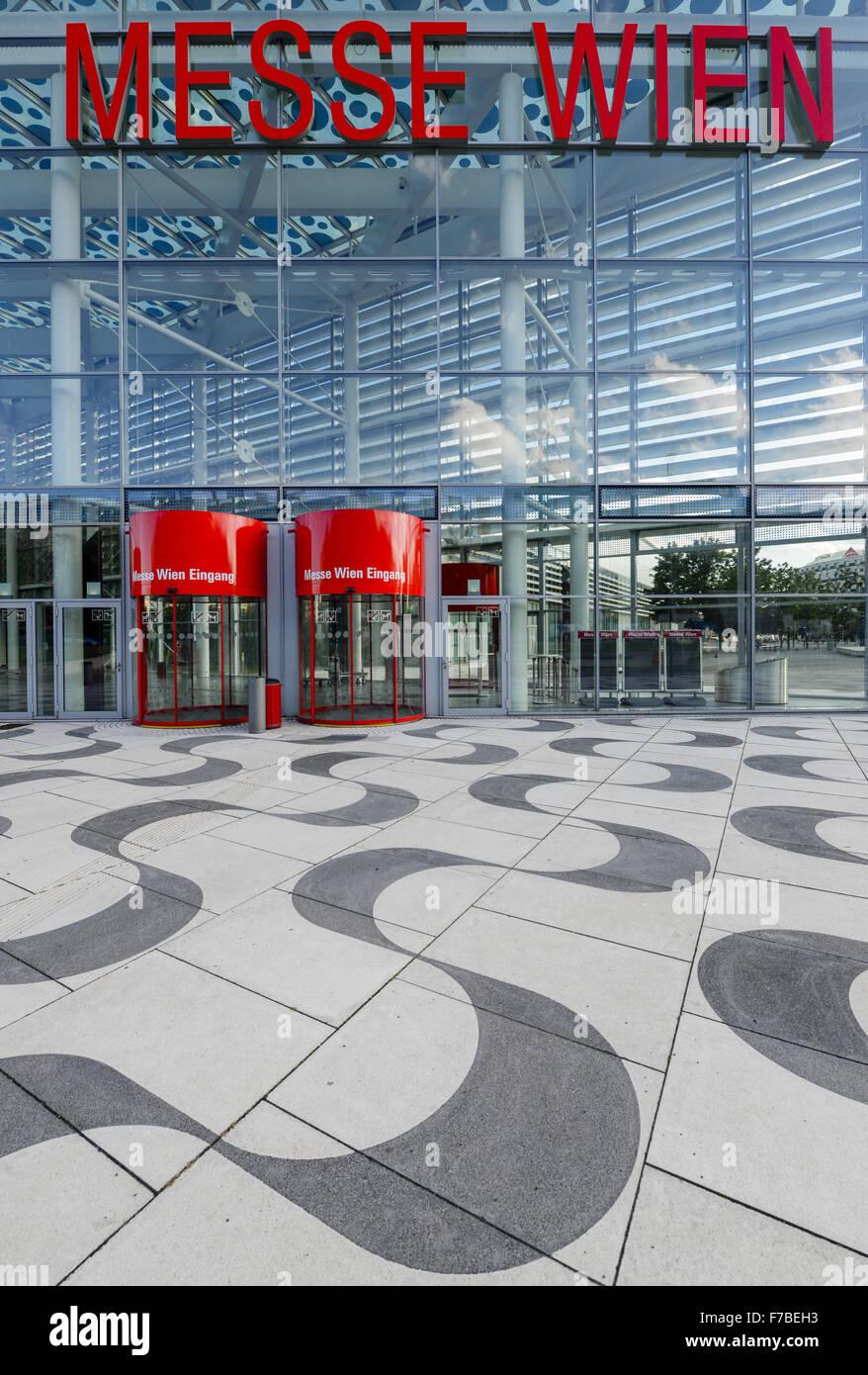 Reed Messe Wien, Viena justo, Viena, Austria, 2, distrito ferial. Imagen De Stock