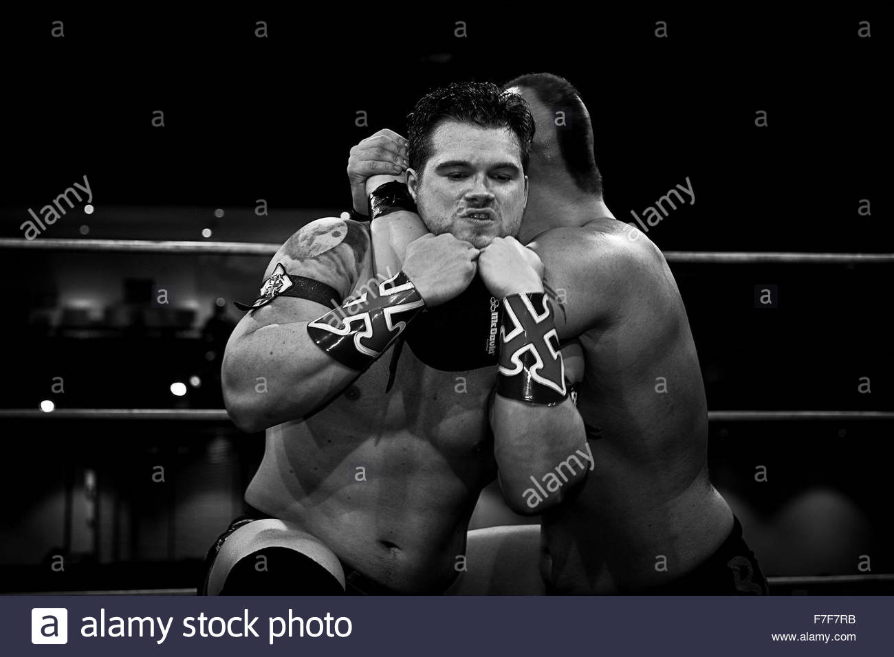 Wrestling Imagen De Stock