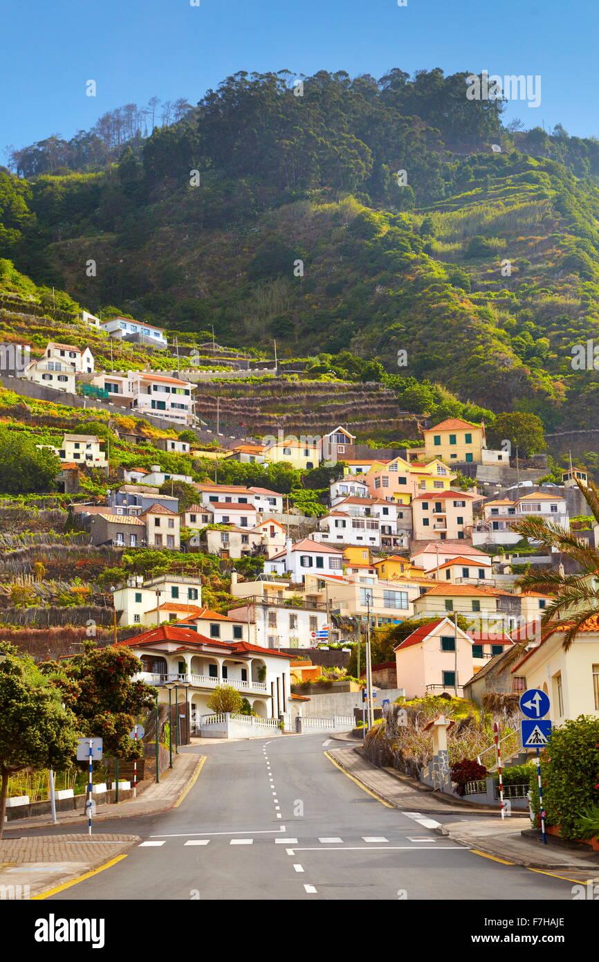 Porto Moniz, Madeira, Portugal Foto de stock