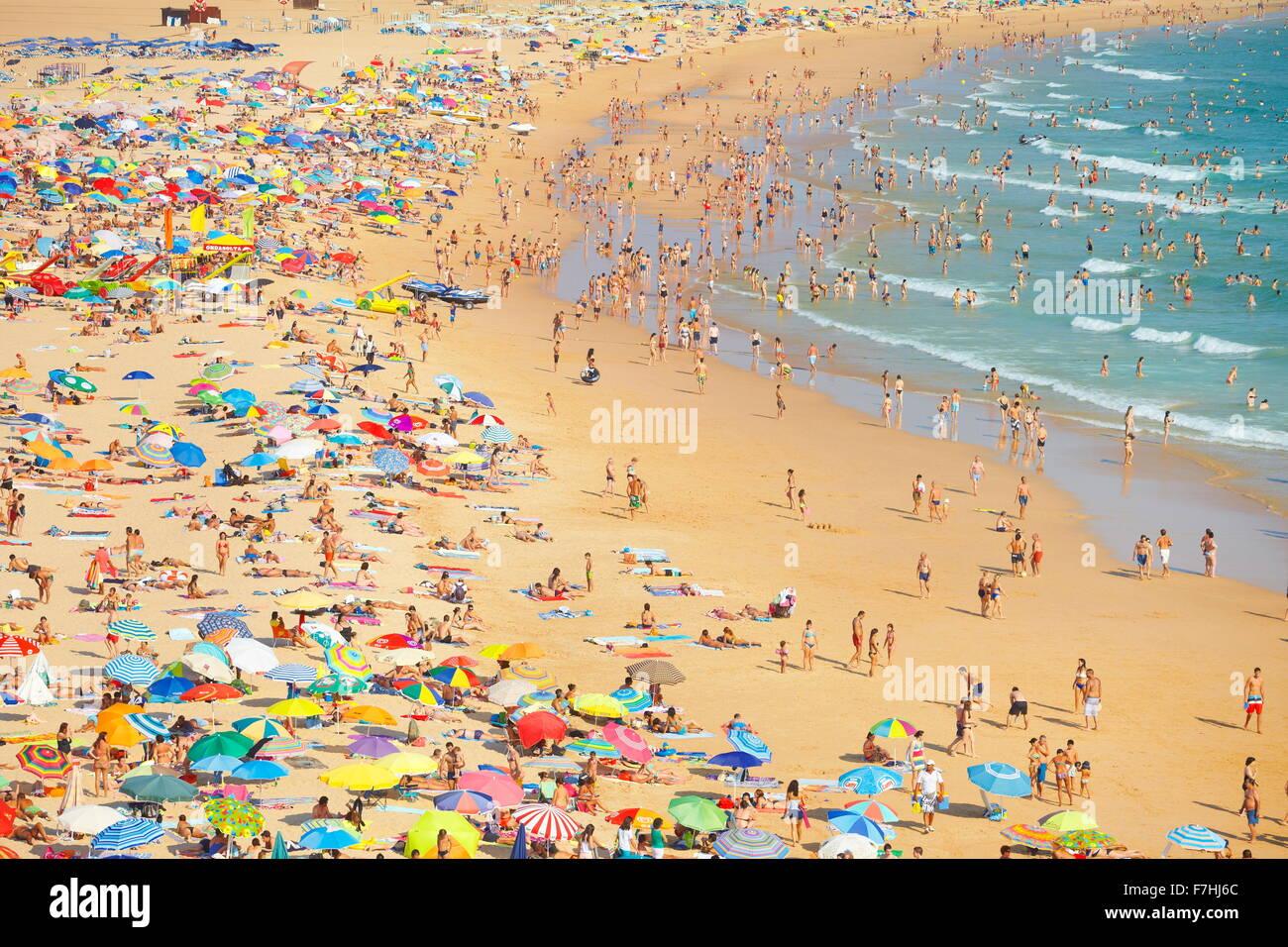 La playa de Rocha, Portimão, Algarve, Portugal Foto de stock