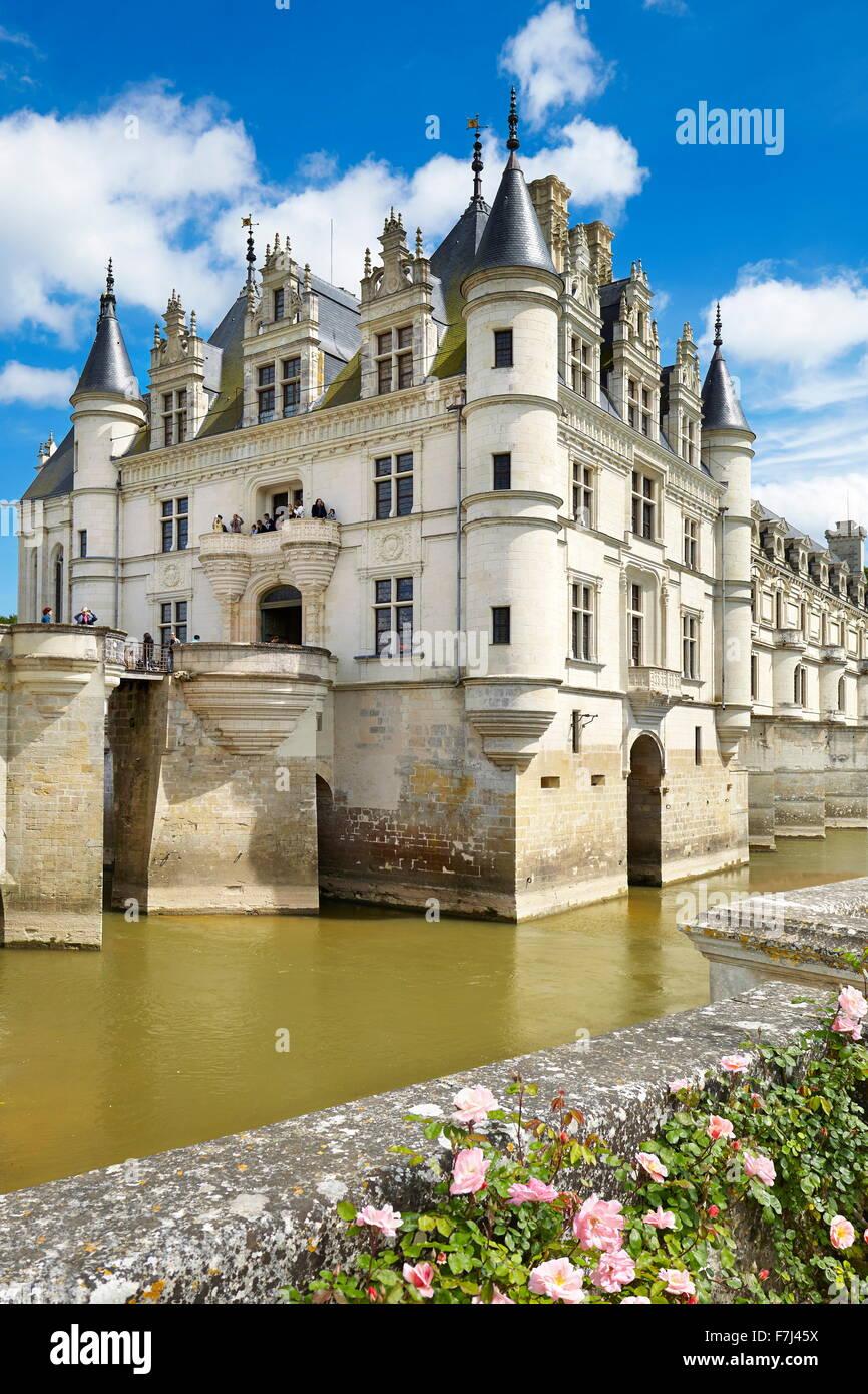 Castillo de Chenonceau, Chenonceaux, Valle del Loira, Francia Imagen De Stock