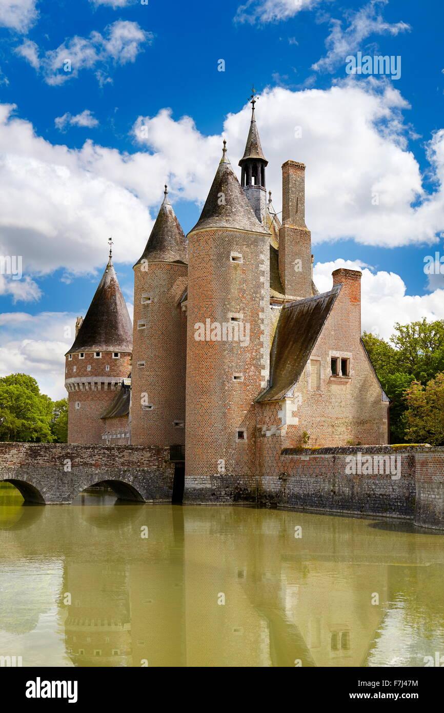 Castillo du Moulin, Valle del Loira, Francia Imagen De Stock