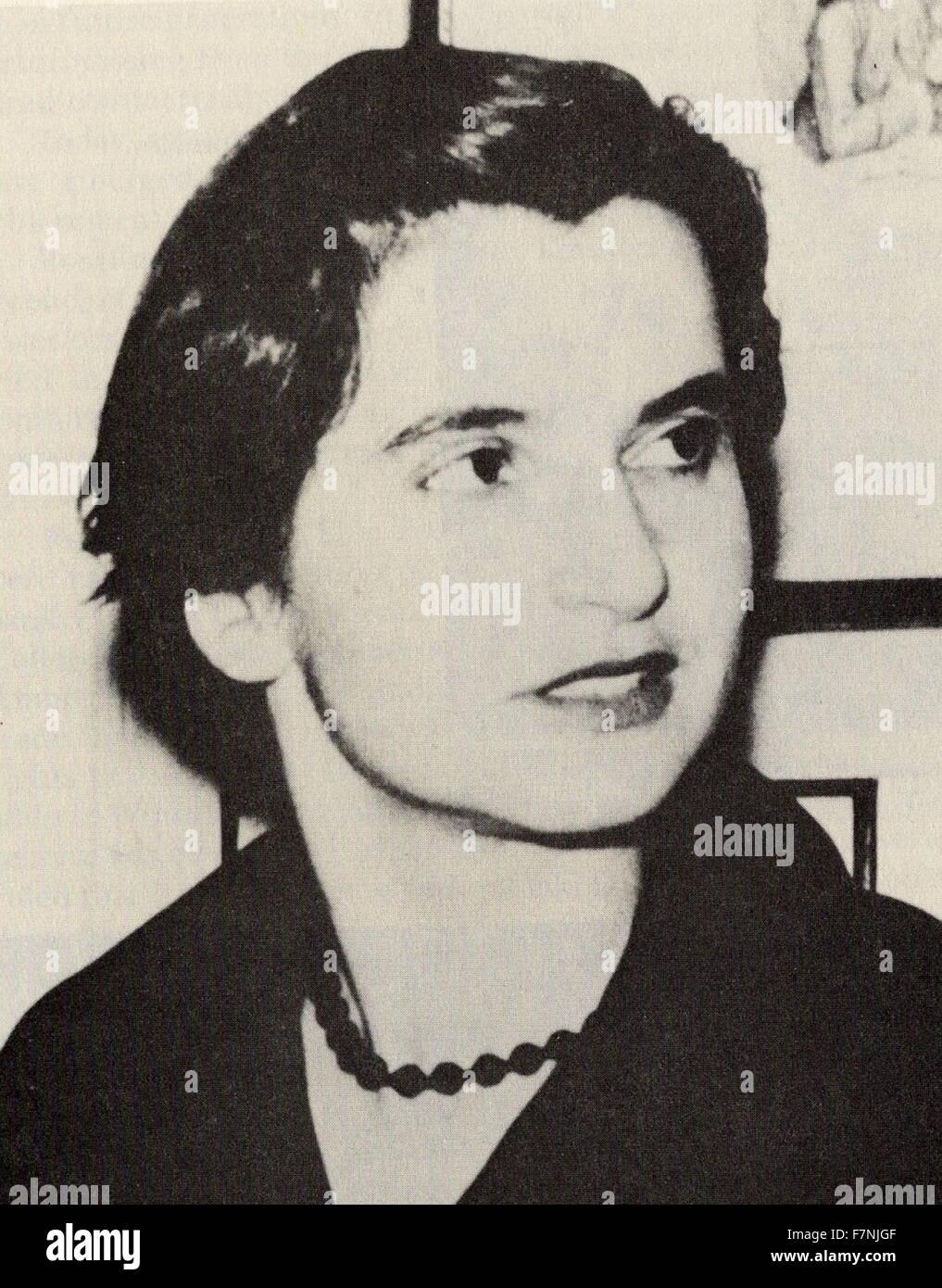 Rosalind Franklin Dna Imágenes De Stock Rosalind Franklin