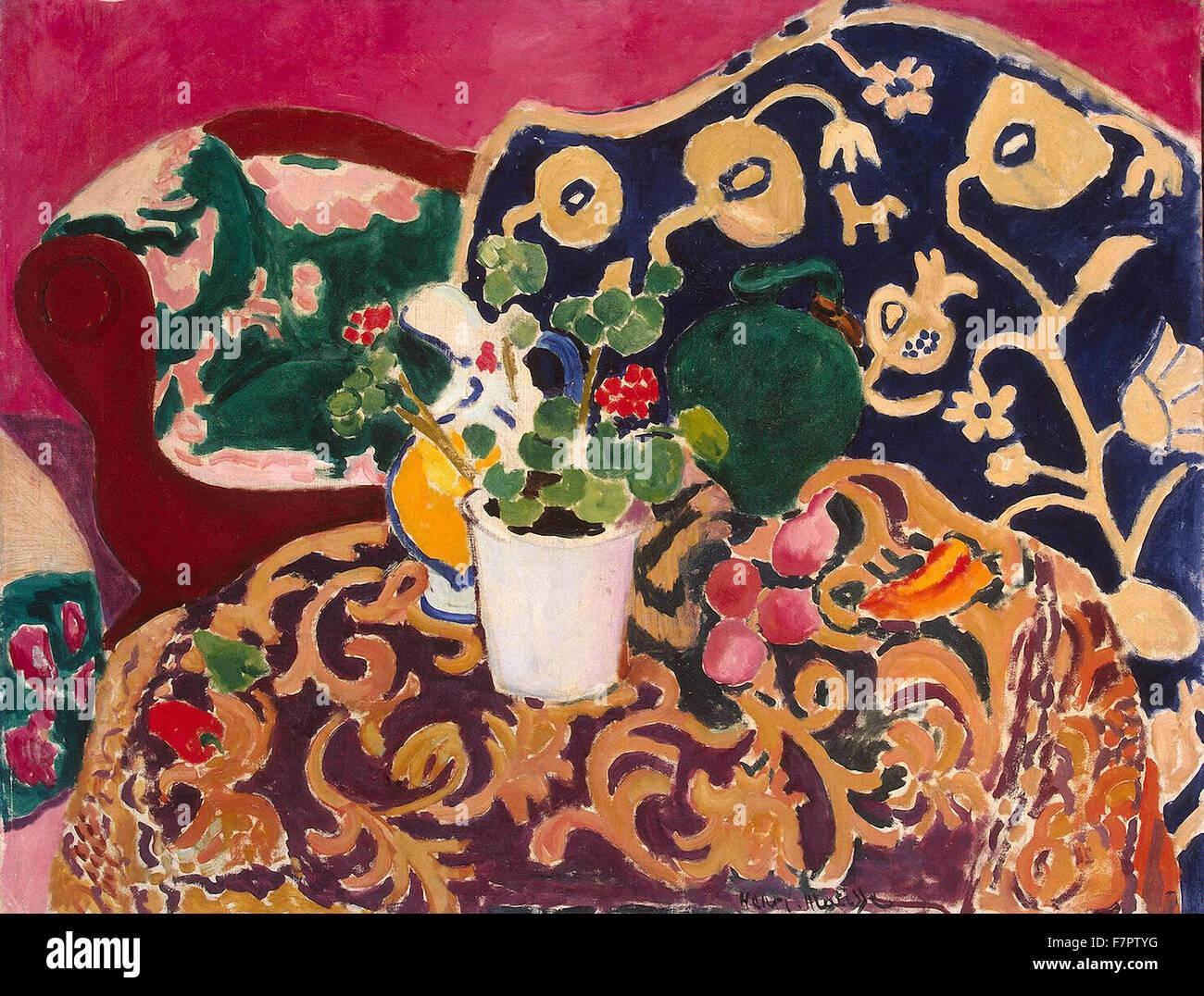 Henri Matisse - Español Bodegón Imagen De Stock