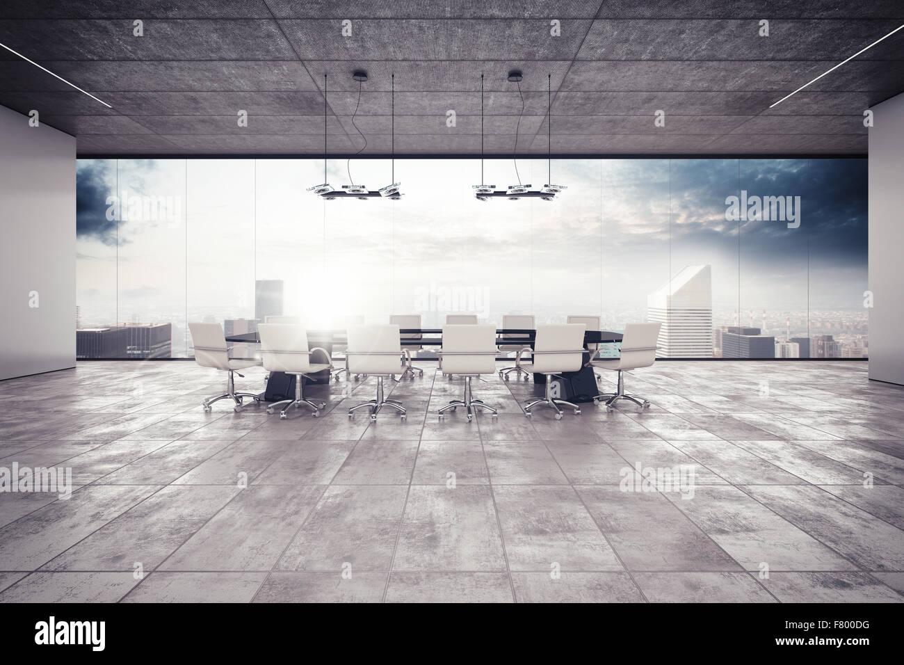 Sala de reuniones Imagen De Stock