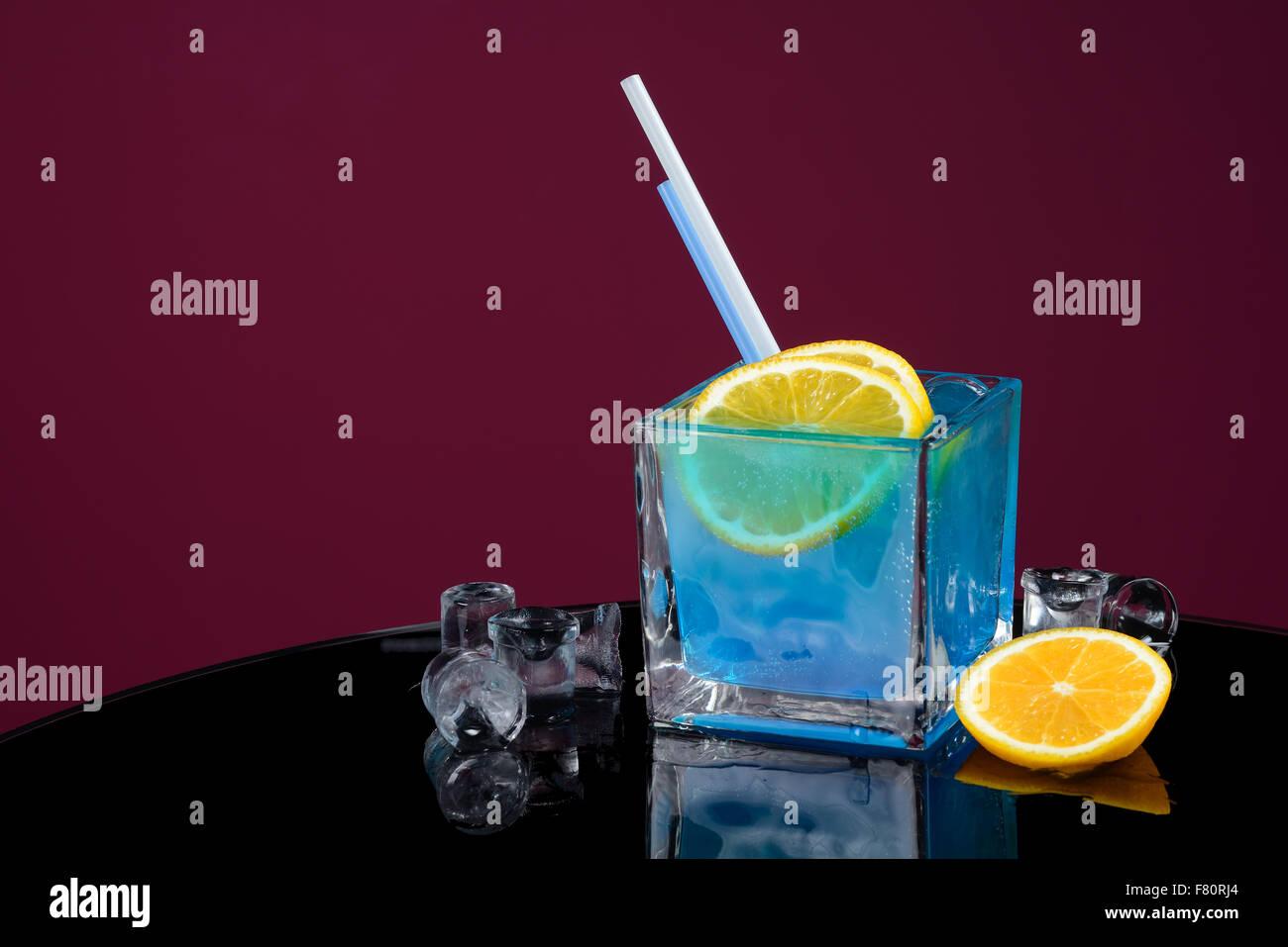 laguna azul Imagen De Stock