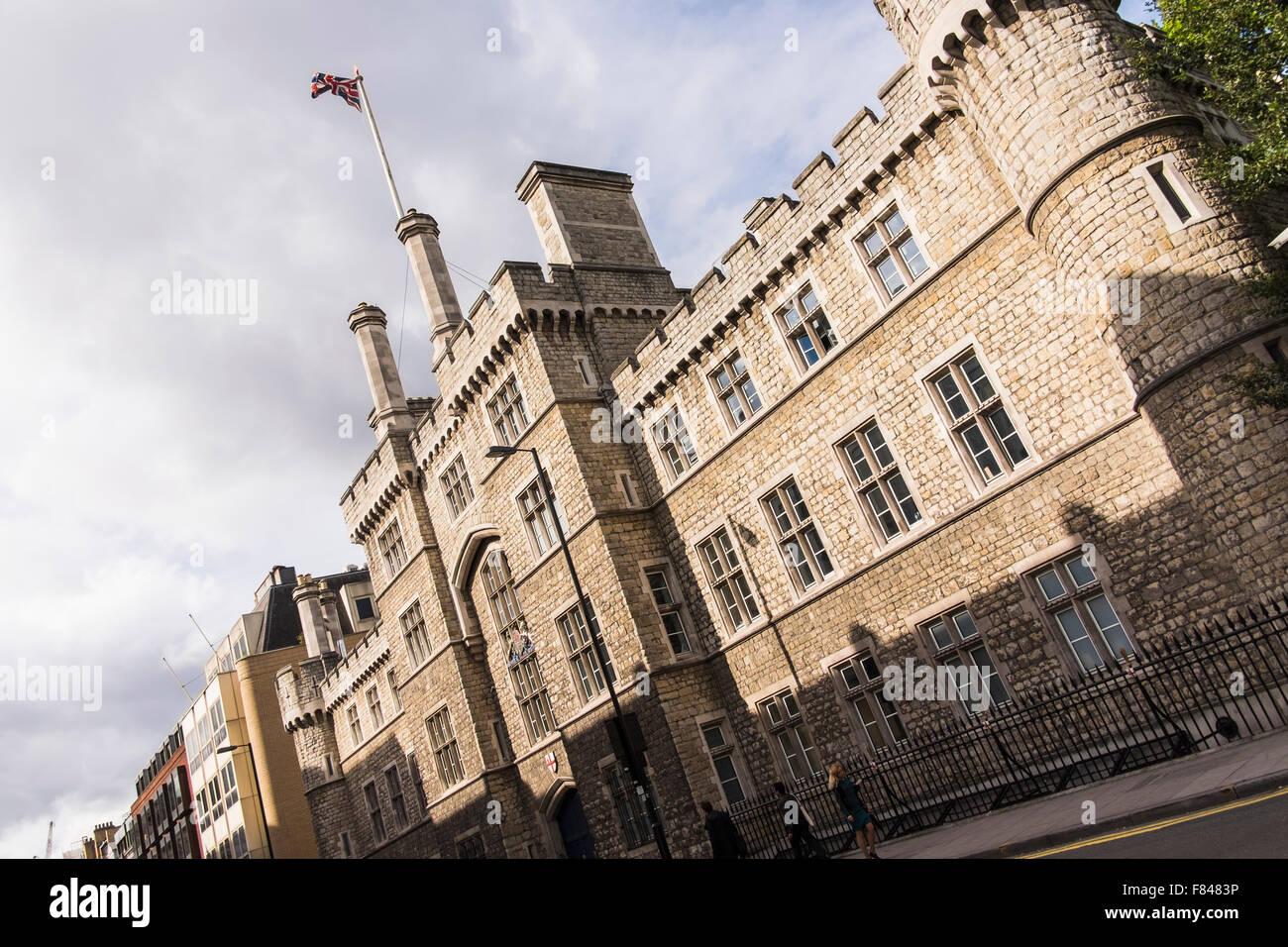 Finsbury Barracas, City Road, Londres, Inglaterra, Reino Unido. Imagen De Stock